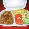 Döner miska – salát, hranolky                          85,-/105,-