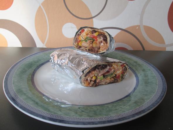 Mexické burritos       100,-